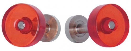 Red Cufflinks by Block