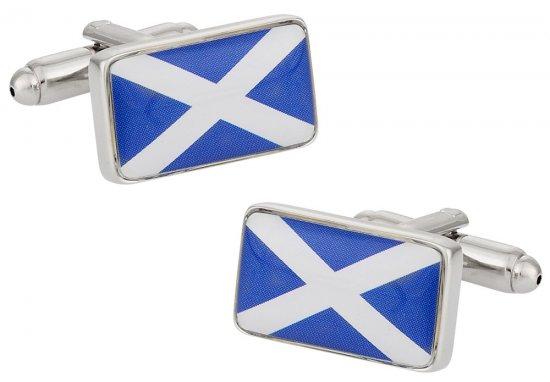 Scotland Flag Cufflinks