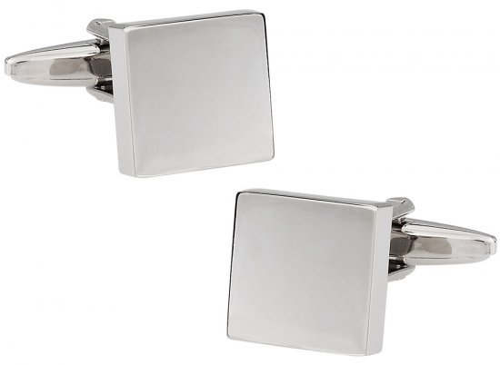 Square Engravable Cufflinks