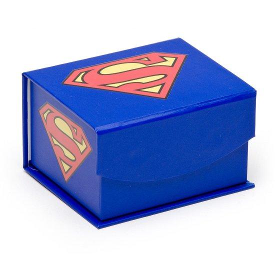 Stainless Steel Superman Cutout Cufflinks