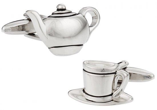 Teapot Tea Time Cufflinks