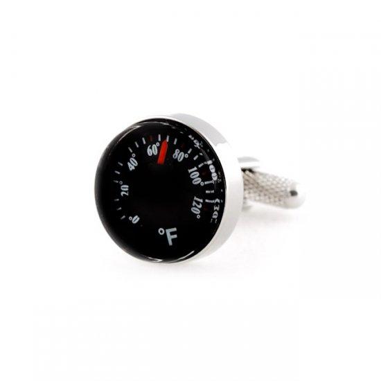 Thermometer Cufflinks (Fahrenheit)