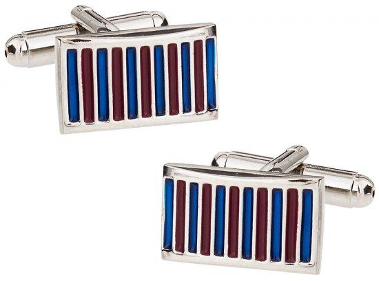 Thin Stripe Cufflinks
