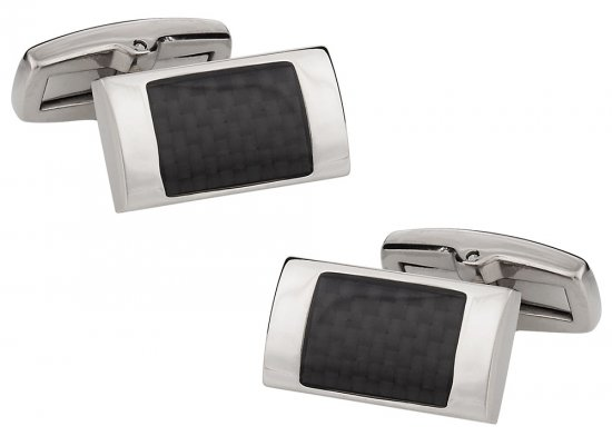 Titanium Carbon Fiber Cufflinks
