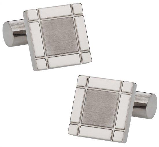 Titanium Square Cufflinks
