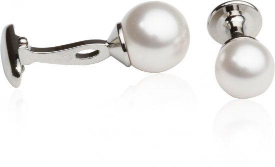 White Swarovski Pearl Formal Set