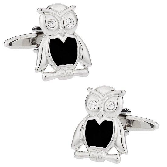 Wise Owl Cufflinks
